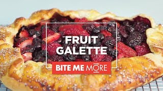 What's easier than pie? Our Fruit Galette! It's quick, easy, and co...