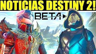 Destiny 2: Revelacion Fecha de la BETA! E3! Nueva Subclase ARCSTRIDER! BUNGIE en E3 Y PAX!