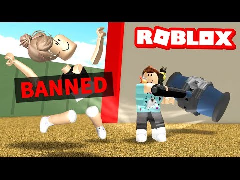I got the Roblox BAN HAMMER!!