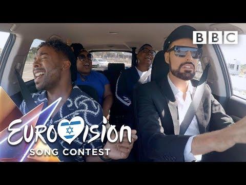 Eurovision 2019 Taxi Karaoke Tel Aviv 😂🎤 - BBC