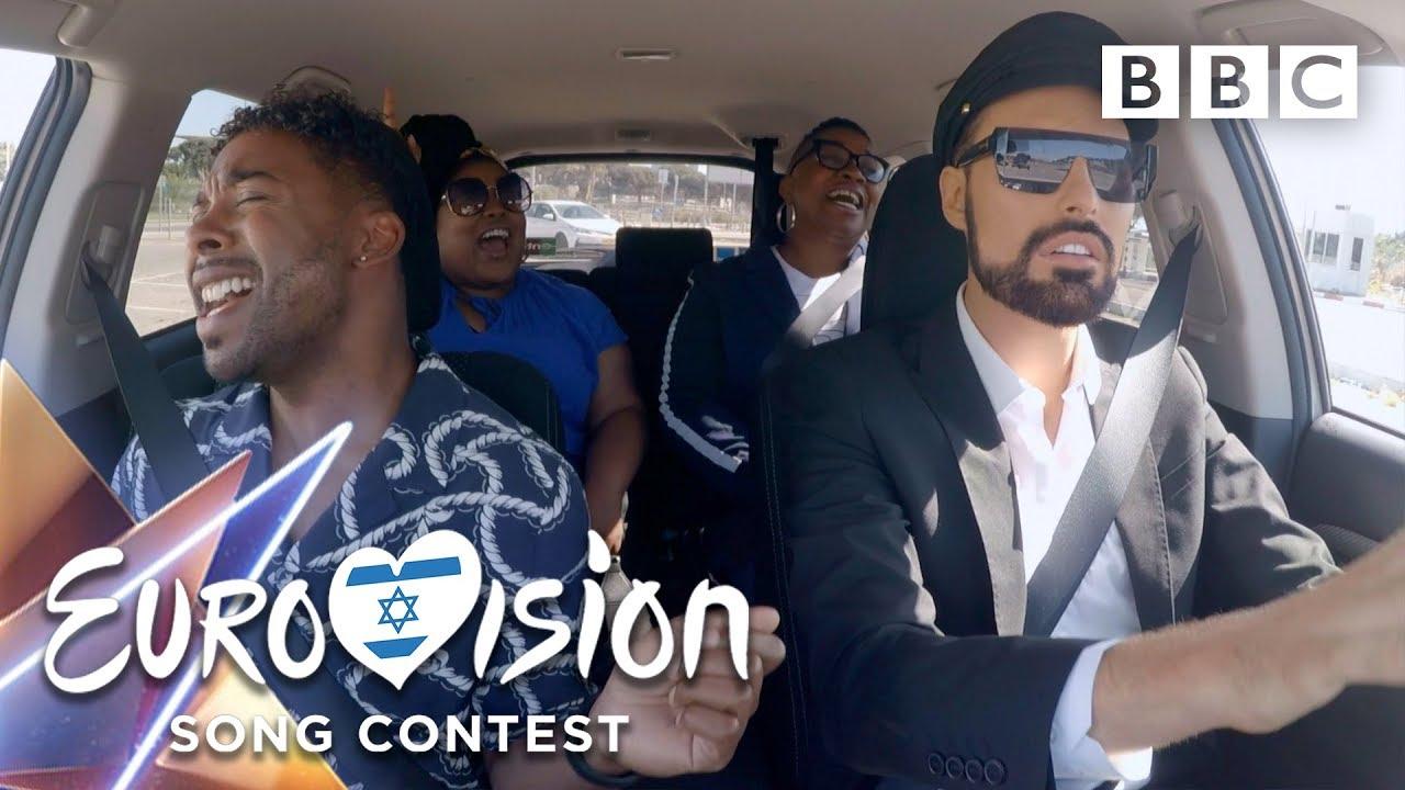 Eurovision 2019 Taxi Karaoke Tel Aviv ?? - BBC