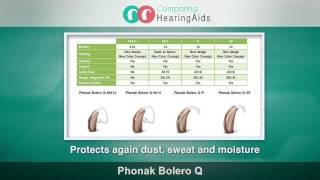 Brand Comparison: Phonak Bolero Q and Phonak Audeo Q