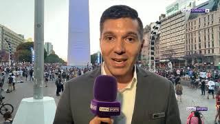 ماهو تفاعل الأرجنتينين لوفاة الأسطورة مرادونا مراسلنا إبراهيم خضر يضعنا بالأجواء من بيونس آيرس.