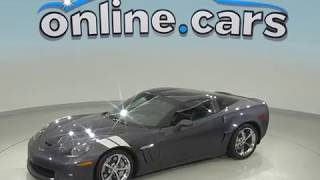 A99178GT Used 2013 Chevrolet Corvette Grand Sport RWD 2D Coupe Gray Test Drive, Review, For Sale