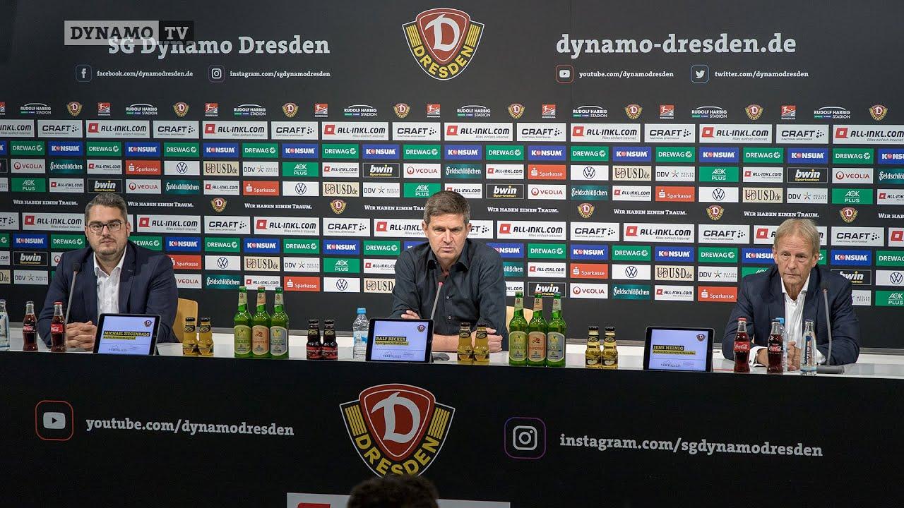 Re-Liveübertragung: Presskonferenz zur Vorstellung von Ralf Becker