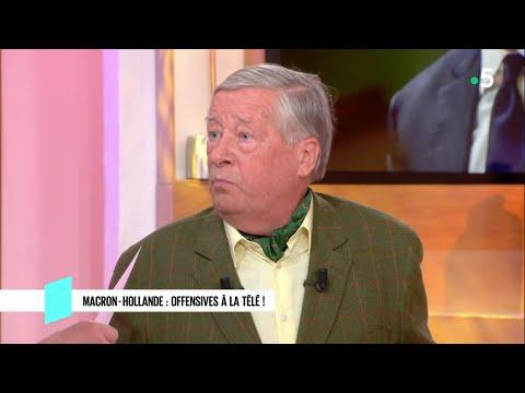 Macron - Hollande : offensives à la télé ! - C l'hebdo - 14/04/2018