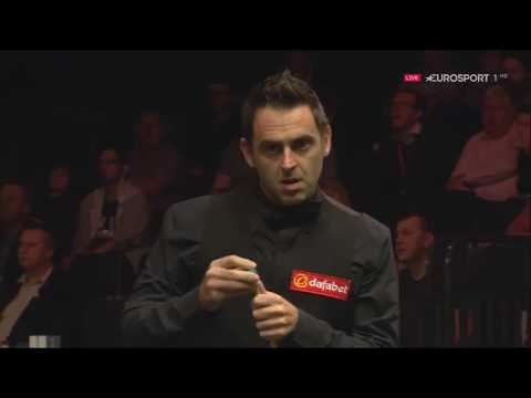 Ronnie O'Sullivan v Mark Davis R2 English Open 2017   YouTube