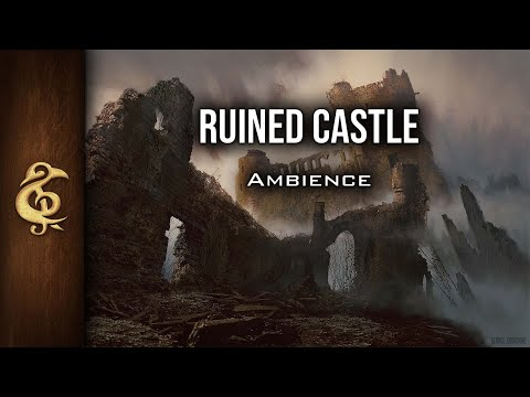 🎧 RPG / D&D Ambience - Ruined Castle | Rats, Breeze, Solitude, Not Haunted