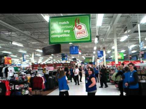 Walmart power outage.
