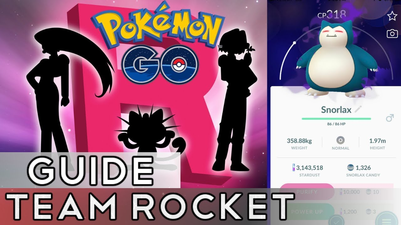 Pokemon Go: How-to Beat Team Rocket – Snorlax Counters – Pro
