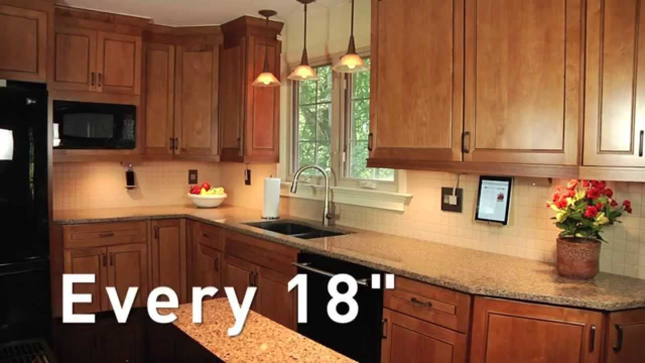 kitchen counter lighting italian bistro decorating ideas adorne how to plan your under cabinet system youtube