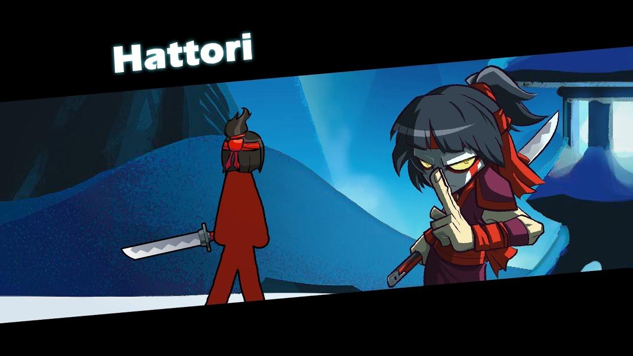 Meet Hattori Brawlhalla Stick Figure Animation Youtube