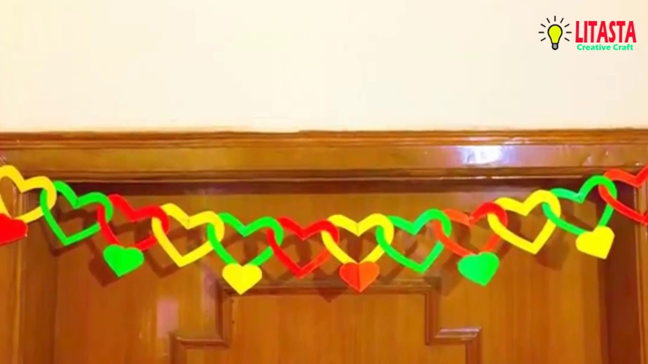 Diy Dekorasi Pintu Kamar Ruangan Dari Kertas Bufalo Keren Youtube