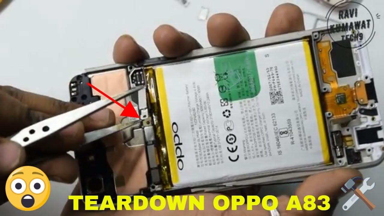 Oppo A83 disassembly and Teardown how to open
