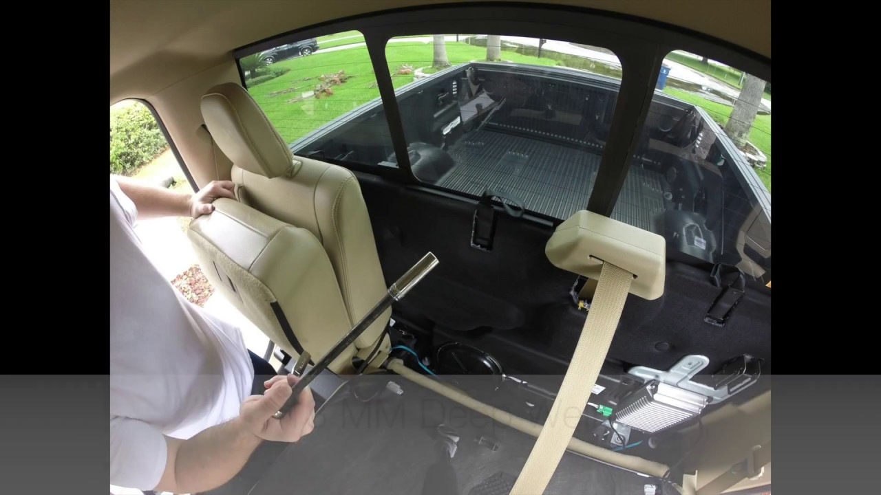 2016 F 150 Subwoofer Wiring Youtube The 12 Volt