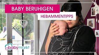 Wie beruhige ich mein Baby? - Unsere Hebammentipps | babymarkt.de