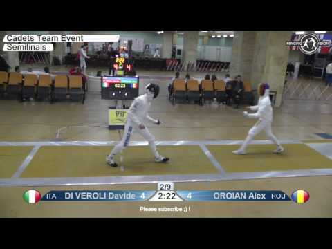 Download Cadets European Championships Semifinal Men Epee Team Italy vs Romania Mp4 baru
