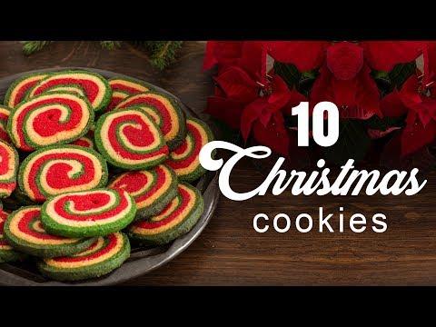 10 Christmas Cookies