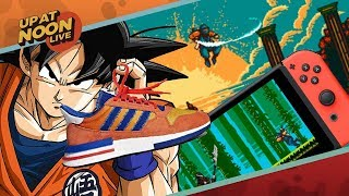 Dragon Ball Z Sneakers and The Switch