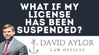 What If My License Has Been Suspended | Charleston SC Auto Accident Attorney