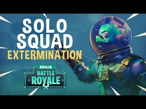 Solo Squad Extermination! - Fortnite Battle Royale Gameplay - Ninja