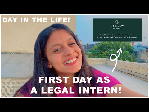 FIRST DAY AS A LEGAL INTERN DAY IN THE LIFE SUMMER INTERNSHIP