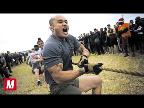 U.S. Marines Training | Army Boot Camp Workout