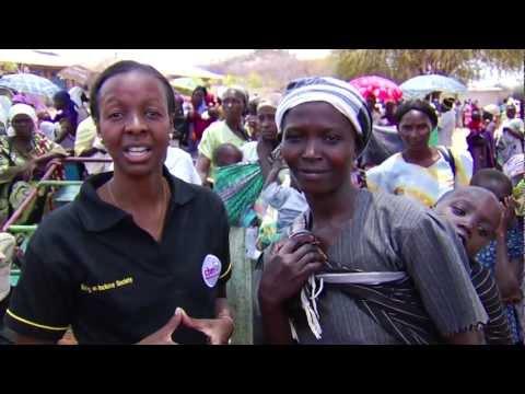 Horn of Africa food crisis - Meru food distribution