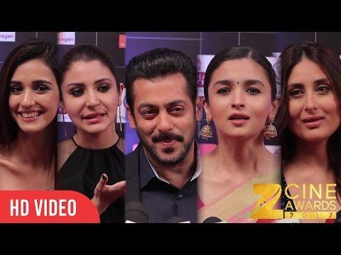 Zee Cine Awards 2017 | Salman Khan, Kareena, Anushka, Alia Bhatt, Hrithik, Disha Patani, Tiger