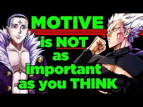 The Genius of Villains without Motives - Garou from One Punch Man & Chrollo from Hunter x Hunter