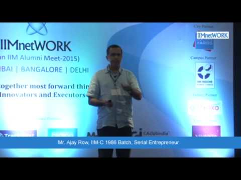 Future of CRM and Personalized marketing : IIMnetWORK Conference @Bangalore July 2015