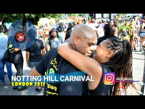 Notting Hill Carnival, London 2017 : The Parade