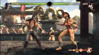 Video MK9 - Nightwolf Combo Compilation By TylerLantern & L0rd of the FLY download MP3, 3GP, MP4, WEBM, AVI, FLV November 2018