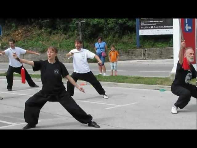Taijiquan na Šuštarsko nedeljo 2012 v Tržiču