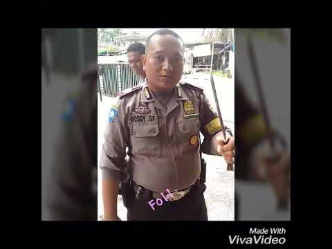 Viral video polisi kebal senjata tajam