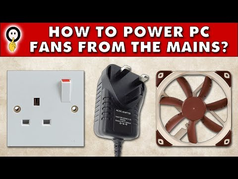 Quiet PC - How To Power PC Fans From the Mains