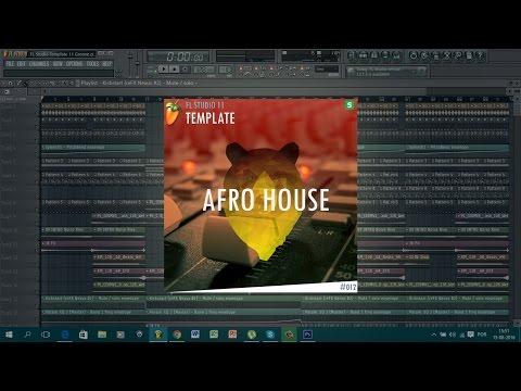 FL Studio 11 // Afro House Template #12 + FLP