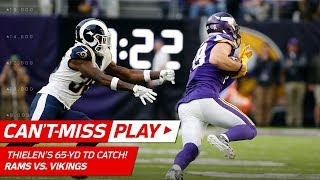 Adam Thielen's 65-YD Catch-'n-Run TD to Extend the Lead! | Can't-Miss Play | NFL Wk 11 Highlights