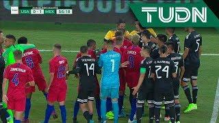 ¡Se prendió el juego! Conato de bronca entre Herrera y Morales