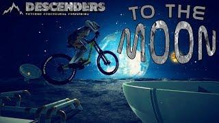 Descenders - To The Moon! - The Moon Bonus Level Gameplay
