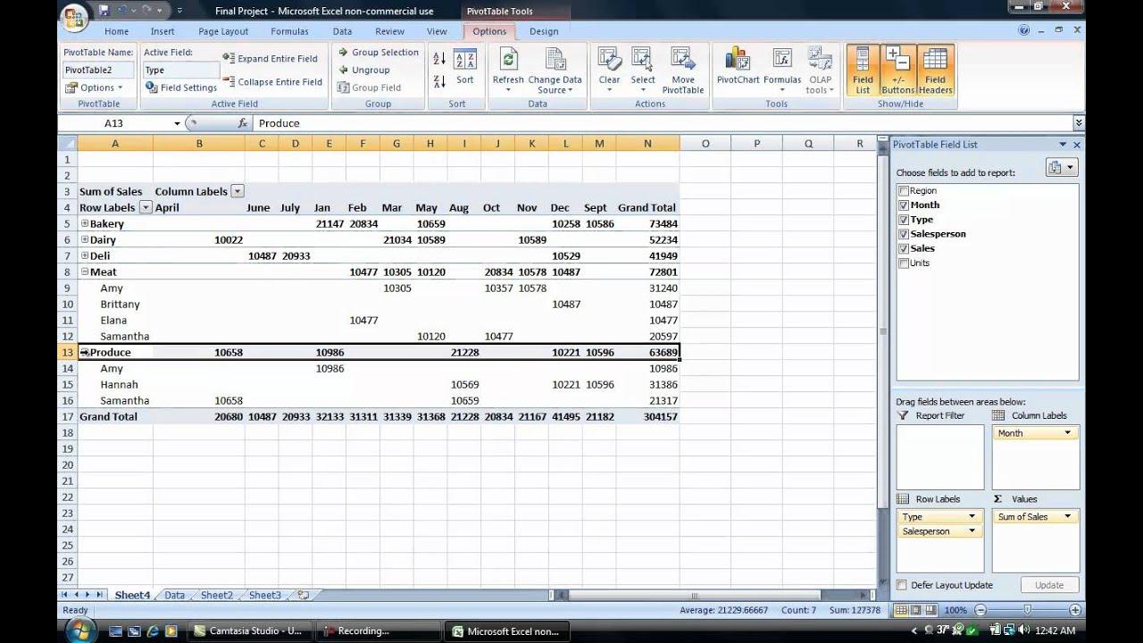 Pivot Table Excel For Dummies Brokeasshome Com