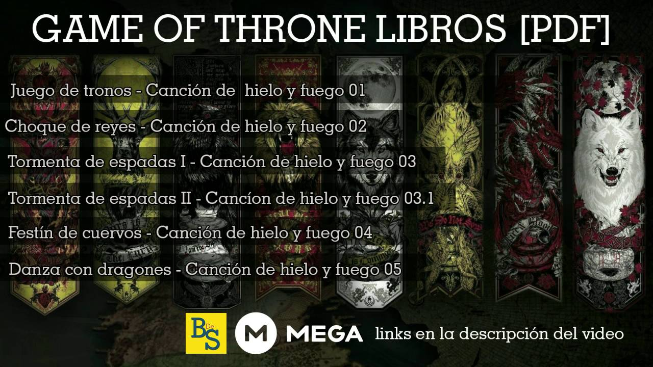 GAME OF THRONES SAGA COMPLETA [LIBROS PDF] MEGA 2017