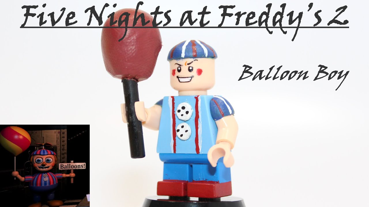 Lego Five Nights At Freddy S Balloon Boy Custom Minifigure