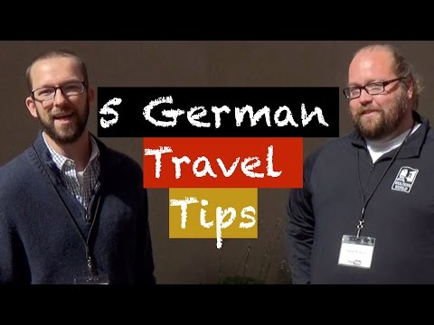 5 German Travel Tips from Wolters World - Collaboration Video - Deutsch lernen
