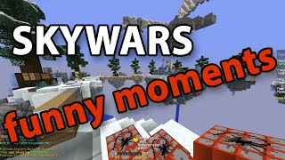 Skywars Funny Moments #1 - Hypixel Skywars - Minecraft // defib