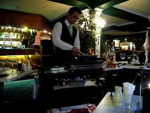 Flambe Restaurant, Mill Hotel & Spa, Chester. Cheshire