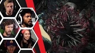 Let's Players Reaction To The Secret Final Boss Battle   Resident Evil 2: Remake