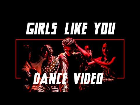 Maroon 5 - Girls Like You ft Cardi B Raspo Remix Dance