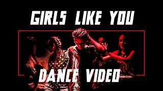 Baixar Maroon 5 - Girls Like You ft. Cardi B (Raspo Remix) [Dance video]
