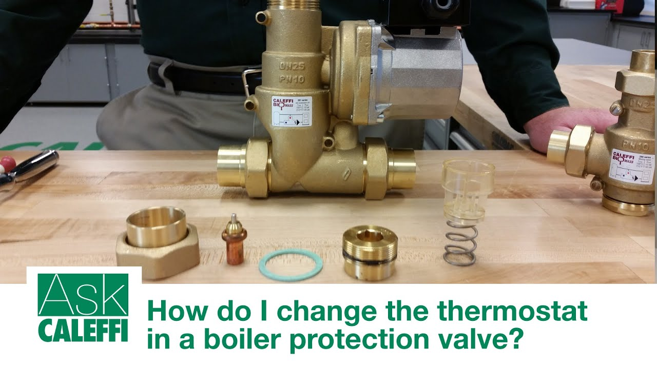 How do i change the thermostat in a boiler protection valve youtube how do i change the thermostat in a boiler protection valve publicscrutiny Images